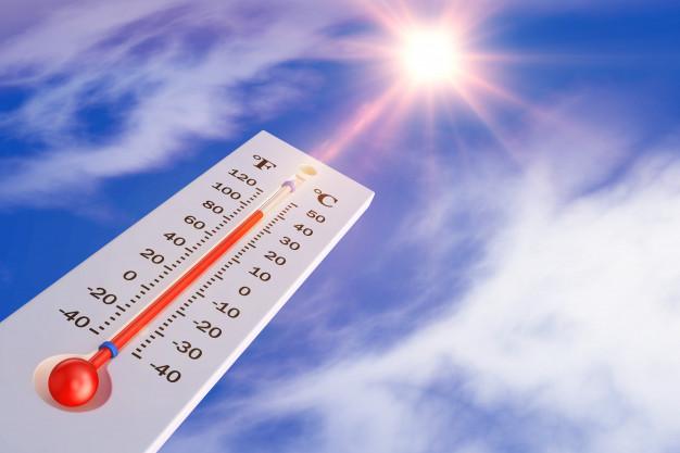 calor termometro